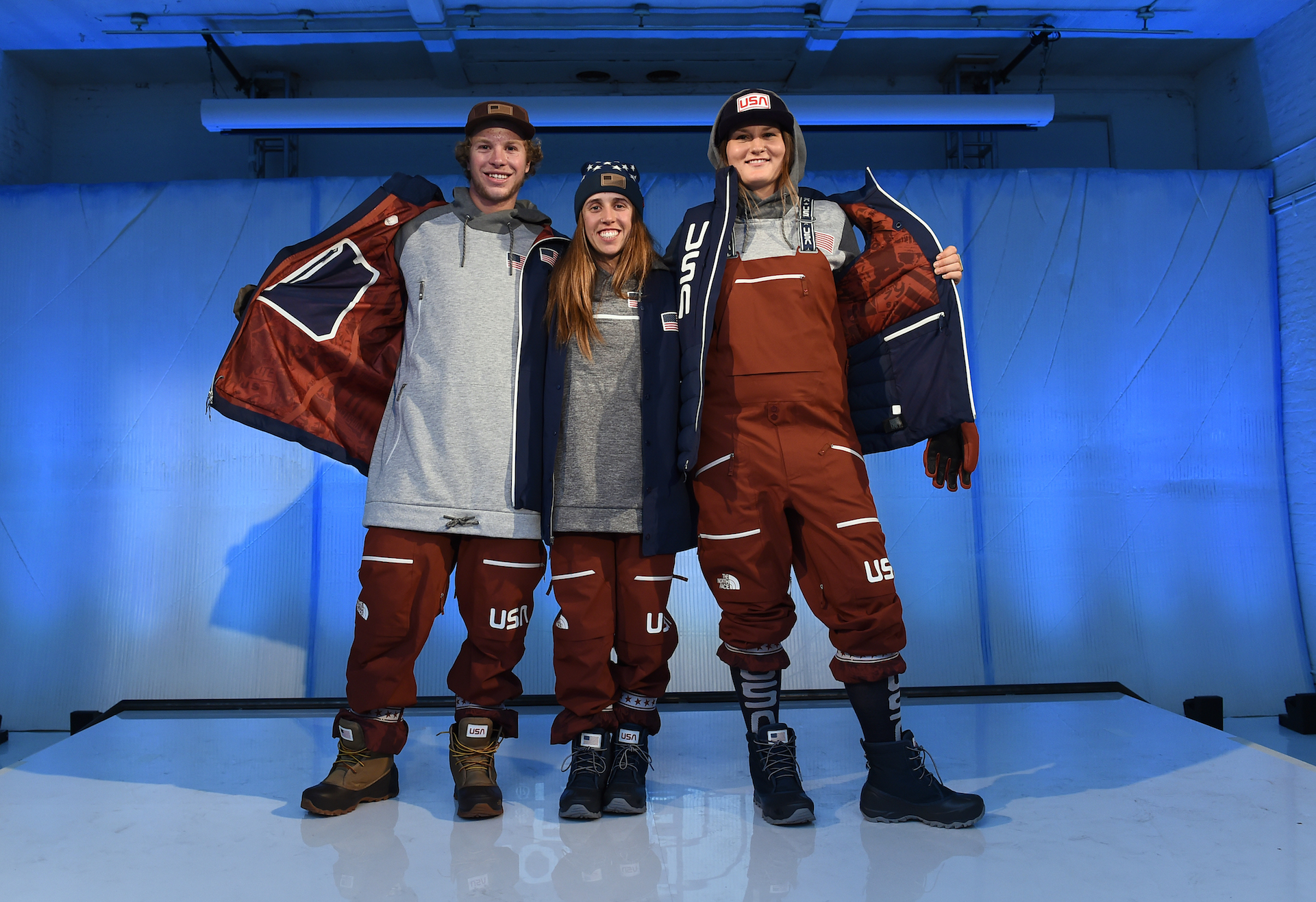The North Face Unveils 2018 Olympic Uniforms