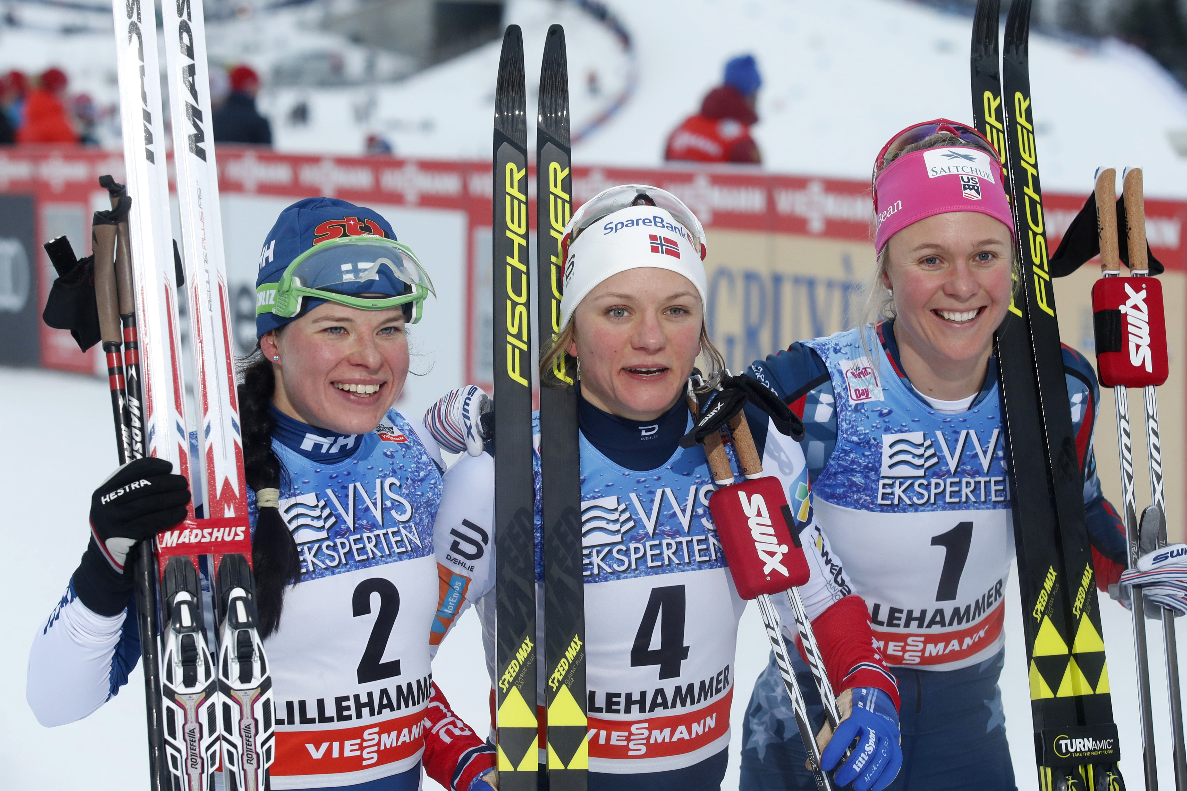 Second straight classic sprint for Sadie Bjornsen