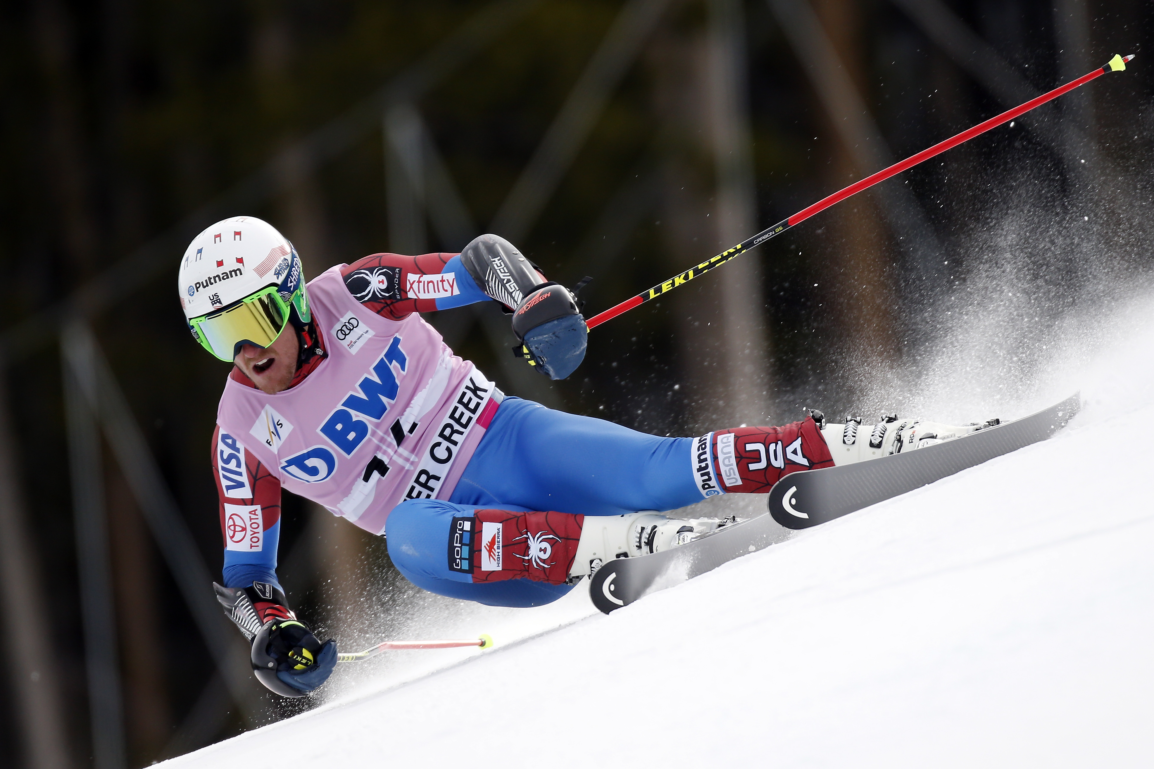 Ted Ligety Beaver Creek 12-3-17