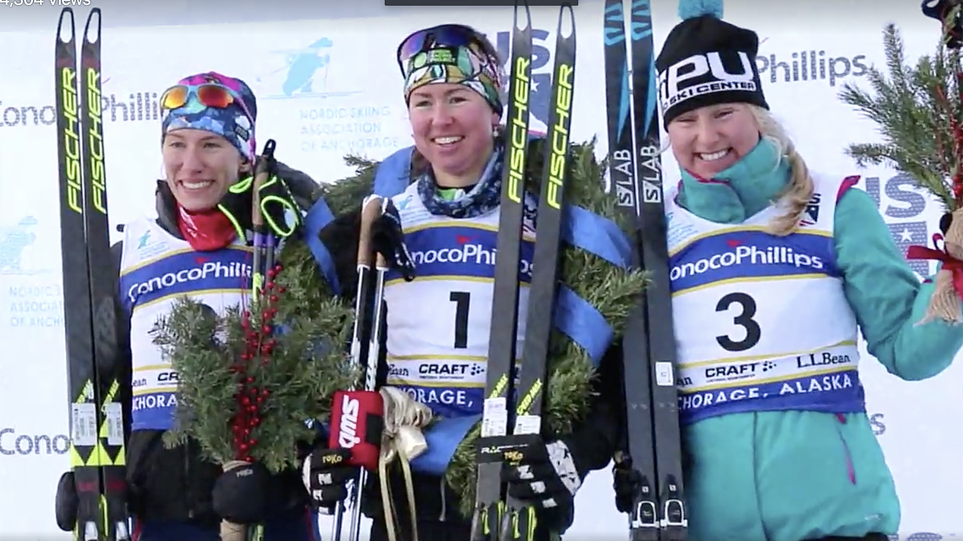 Women's Sprint Podium