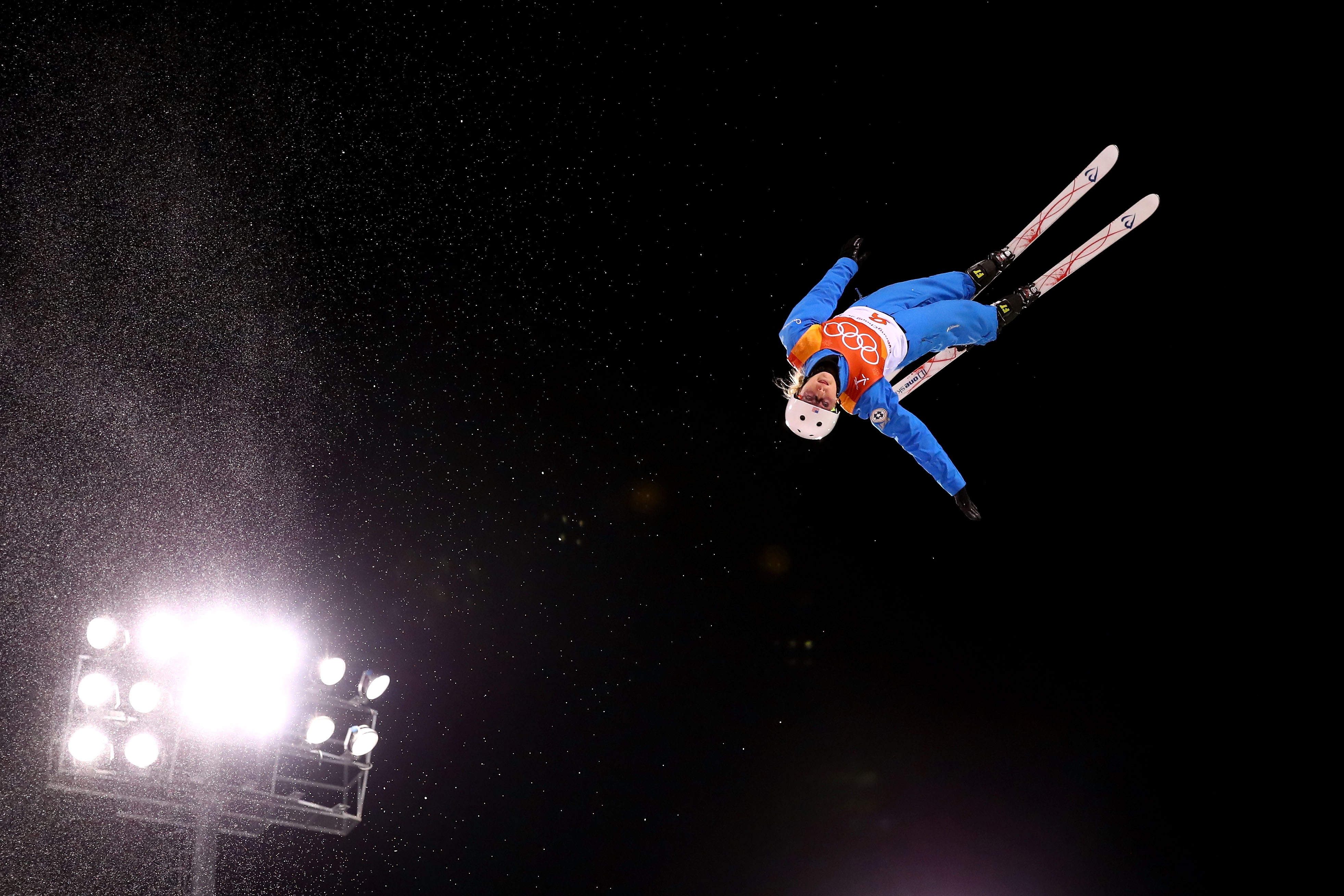 Kiley McKinnon qualified fifth in the aerials Thursday night at Phoenix Snow Park. (Getty Images - Cameron Spencer)