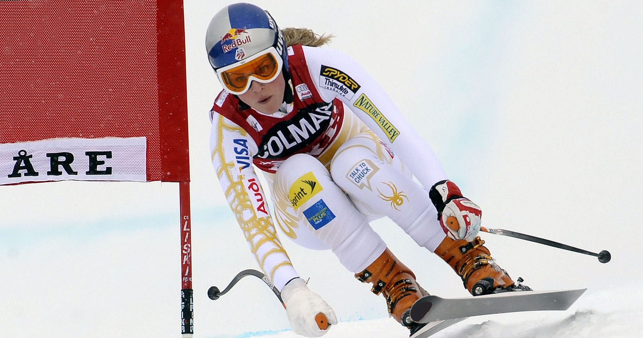 Lindsey Vonn won the World Cup downhill title in Are, Sweden in 2009. Currently second in the downhill standings, she is gunning for her ninth World Cup downhill title Wednesday in Are.