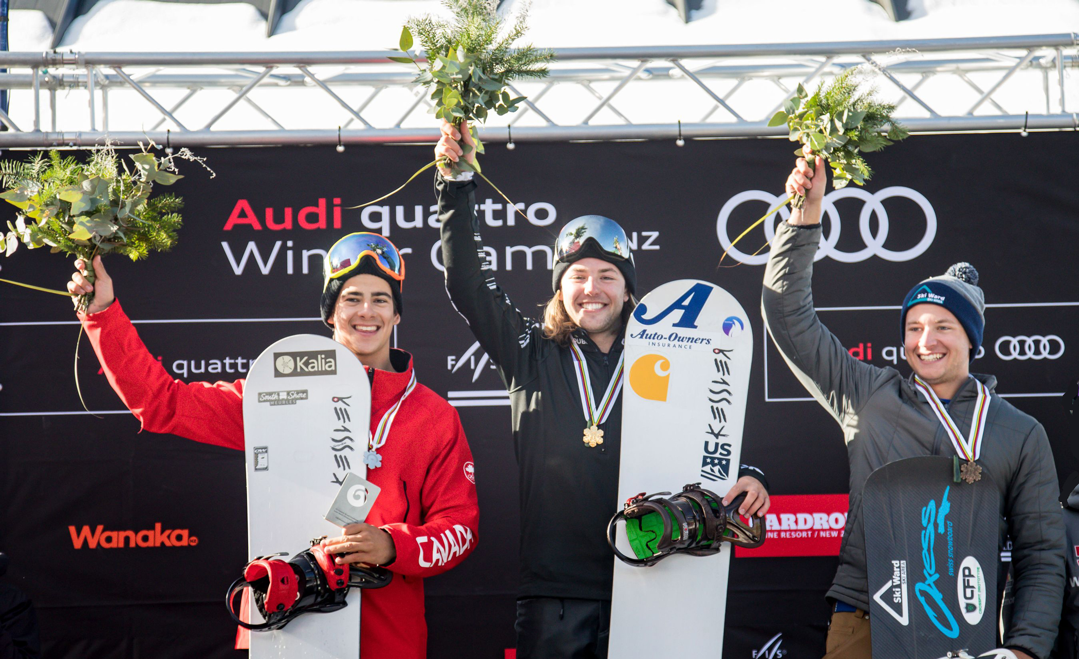 Vedder Gold, Molodyh Silver, Lacroix Bronze in SBX