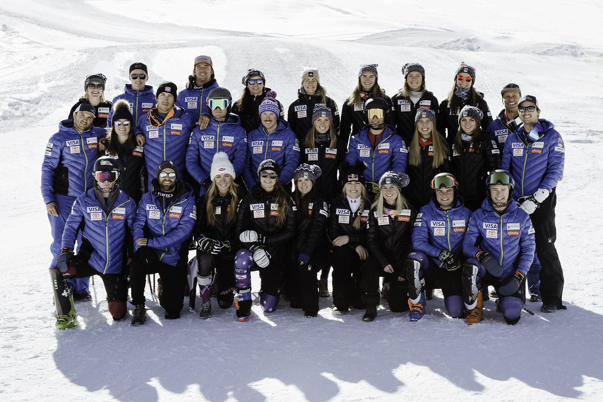 The 2018-19 U.S. Alpine Ski Team (Sarah Brunson - U.S. Ski & Snowboard)