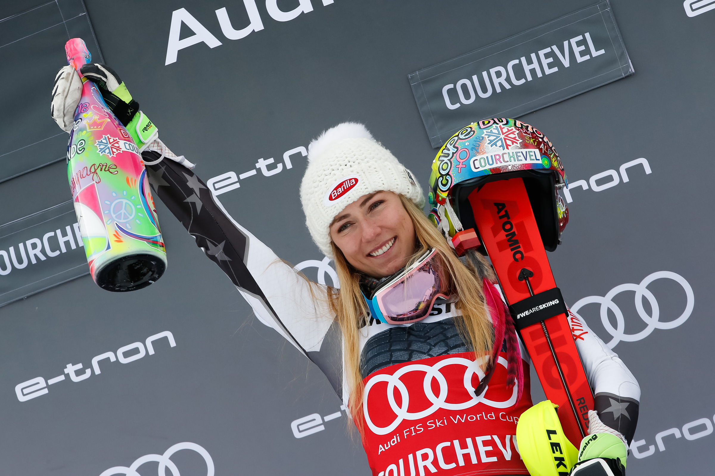 Mikaela Shiffrin World Cup Win No. 50