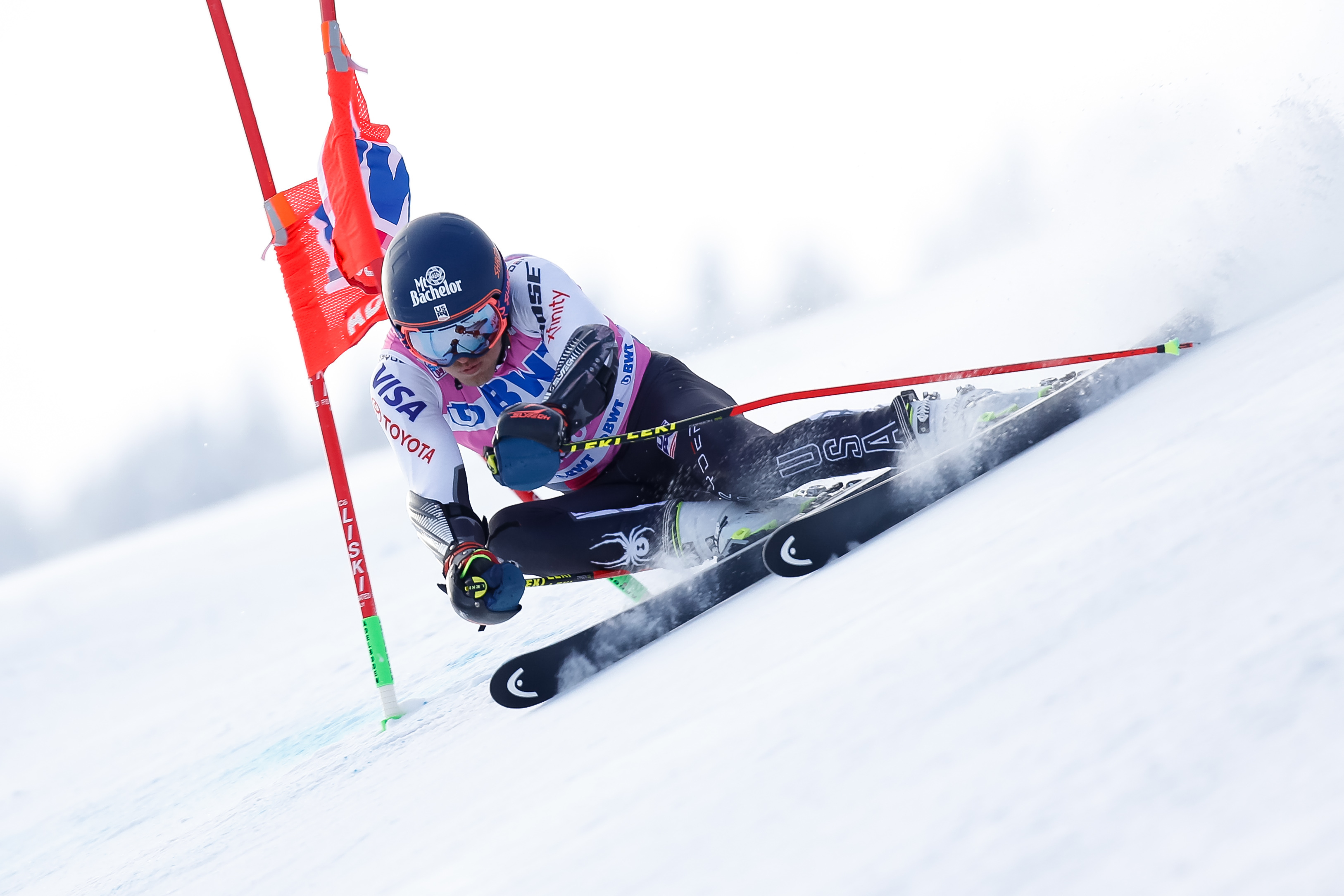 Ford Solid Sixth in Adelboden