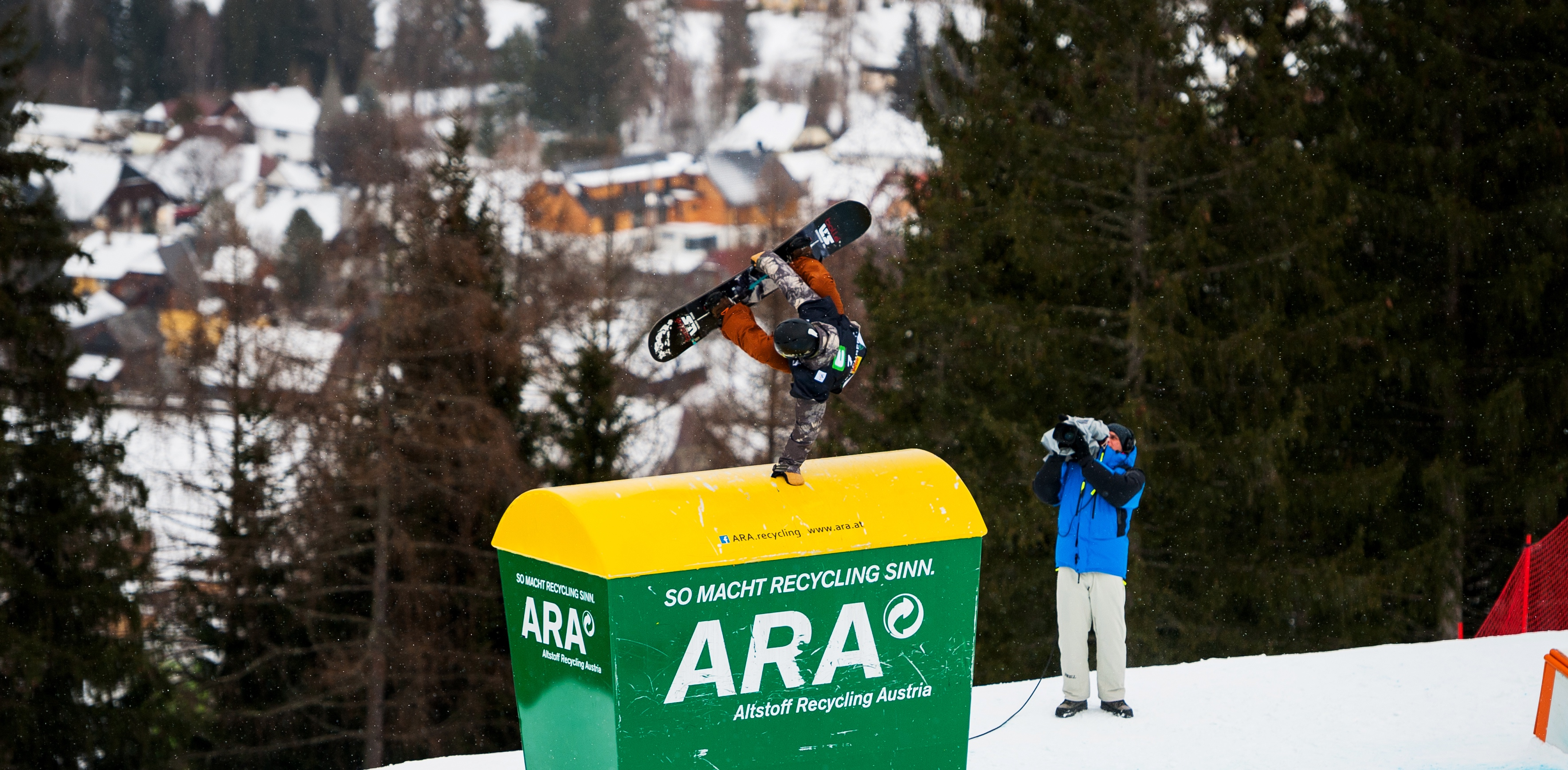 34fa33a59f0b Ryan Stassel at the 2017 Kreischberg FIS World Cup. (FIS Snowboard - Miha  Matavz)