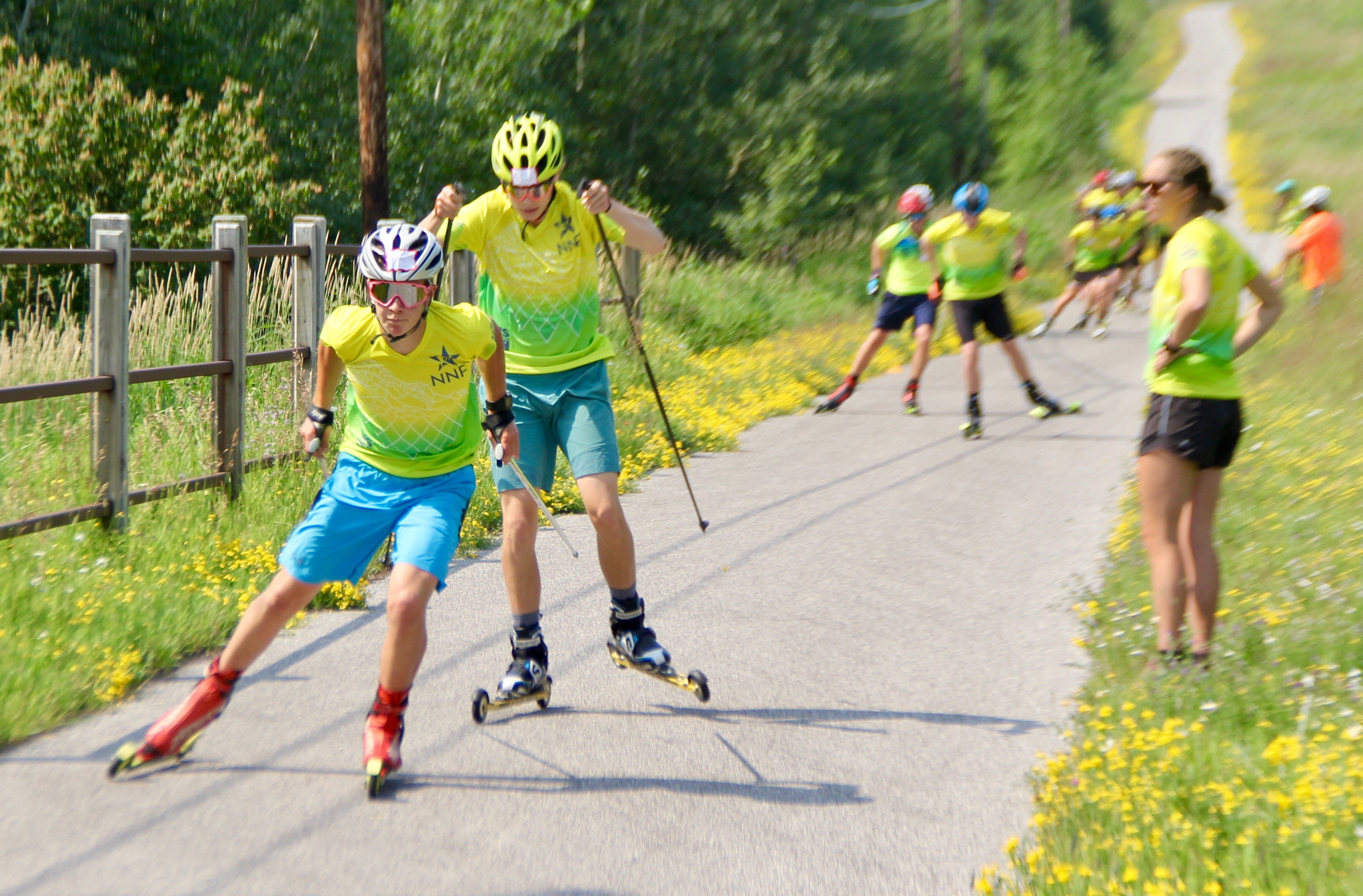 Sixty U16 athletes came together at the National U16 Cross Country Camp in Duluth, Minn.
