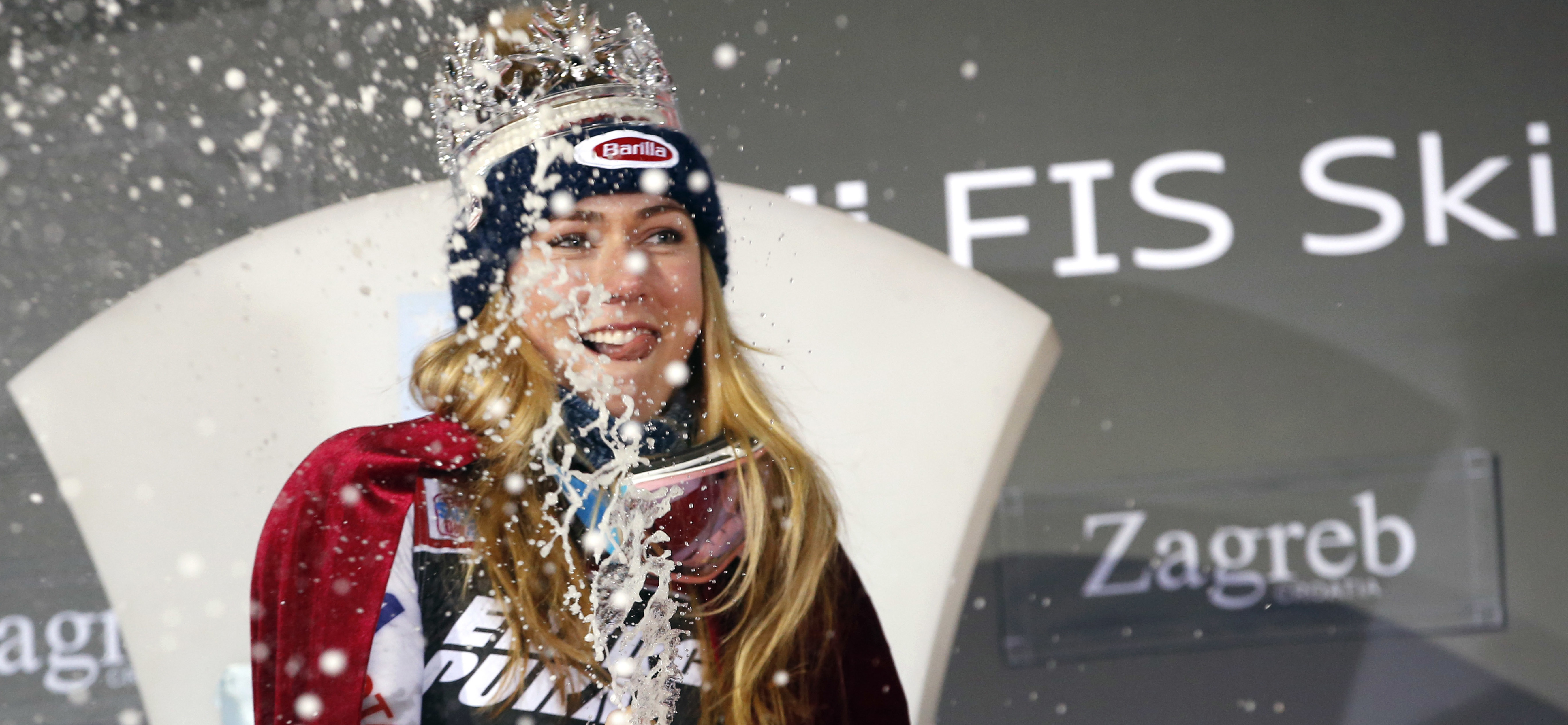 Mikaela Shiffrin Snow Queen
