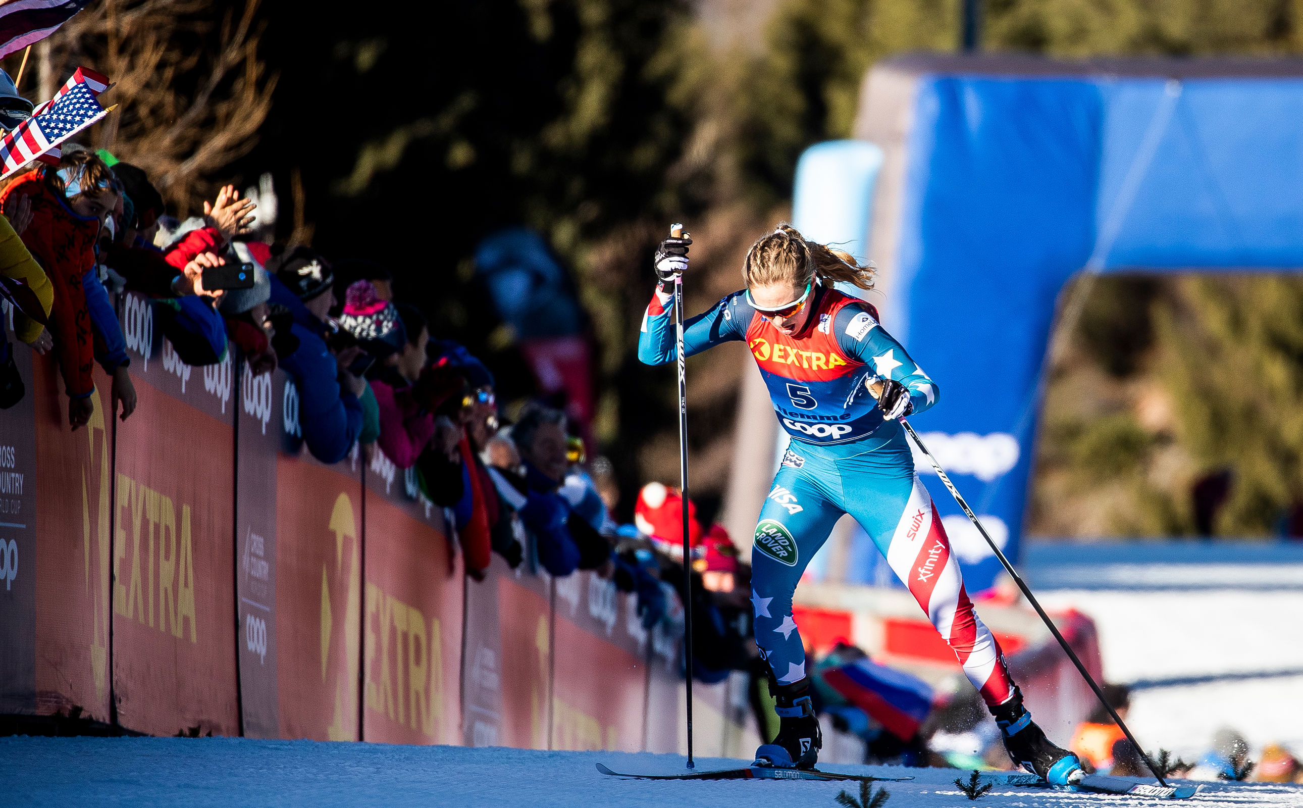 Three Americans In Top 15 Overall At Tour De Ski