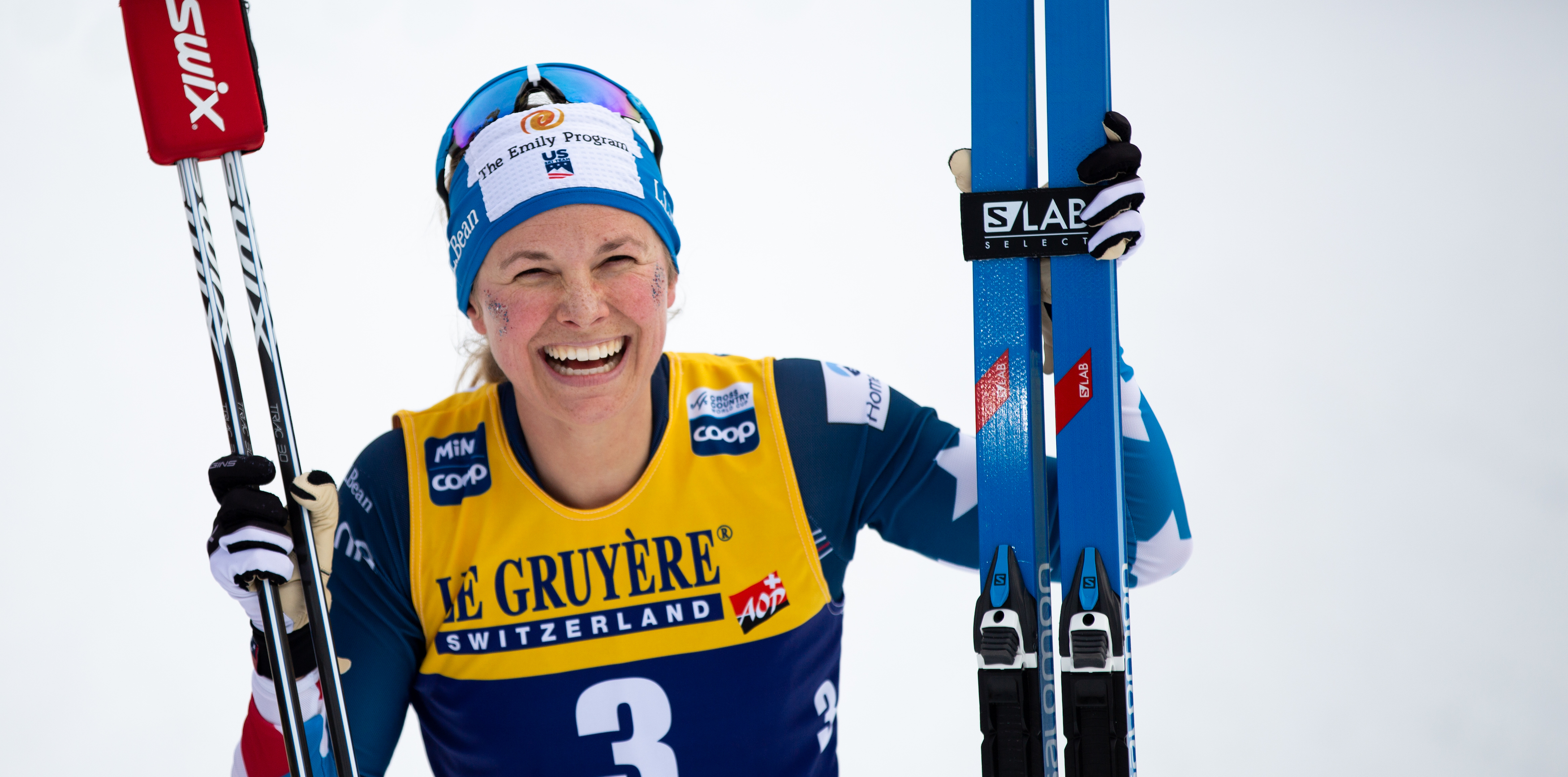 Jessie Diggins Gives Back