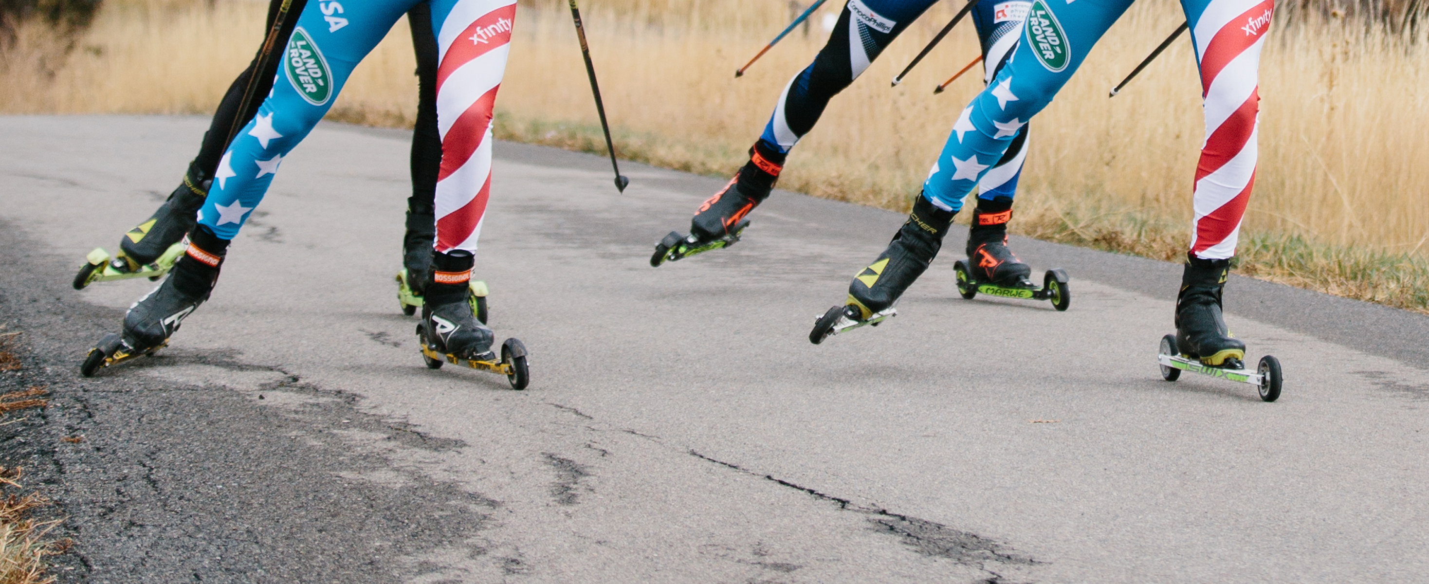 USST Rollerskiing at Soldier Hollow in Oct 2019
