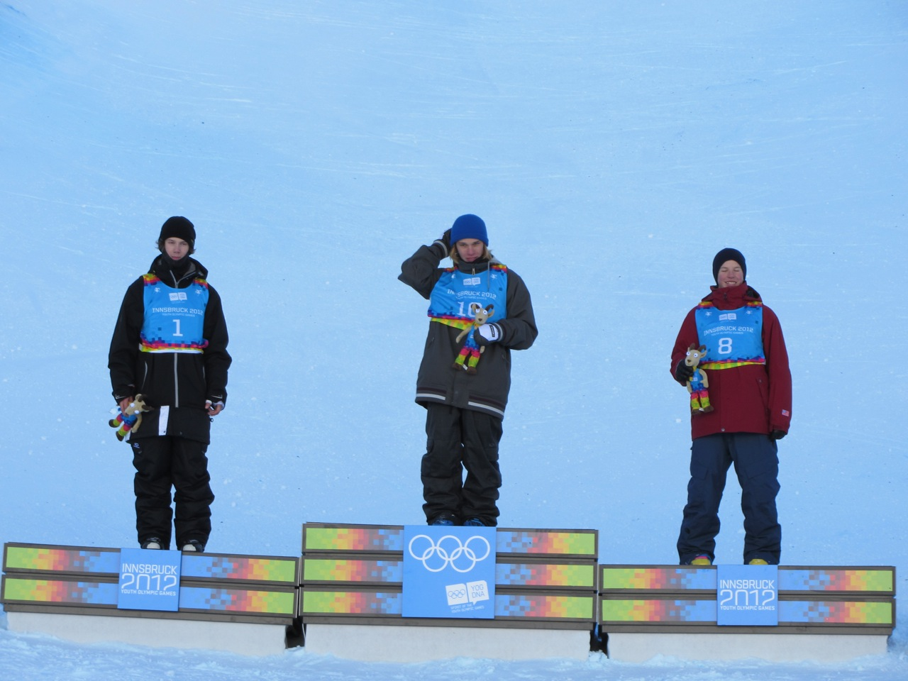Blunck Takes Halfpipe Bronze At Youth Olympic Games