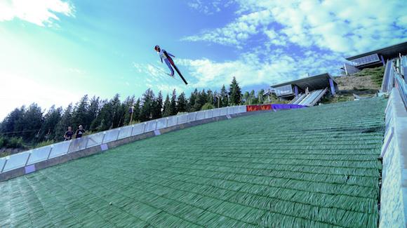 Image result for summer ski jumping park city