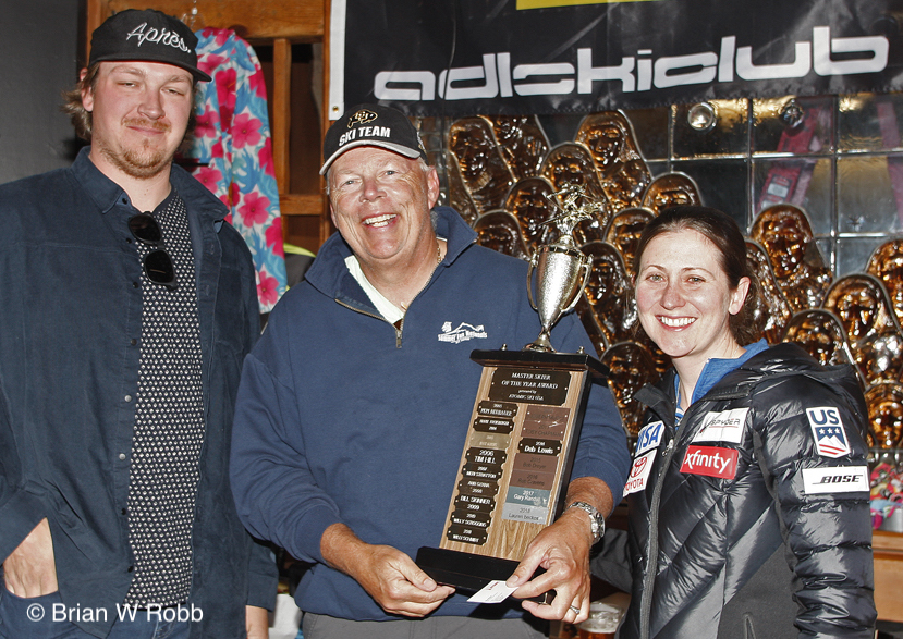 Barry Wise - Atomic Masters Skier of the Year (photo credit: Brian Robb)
