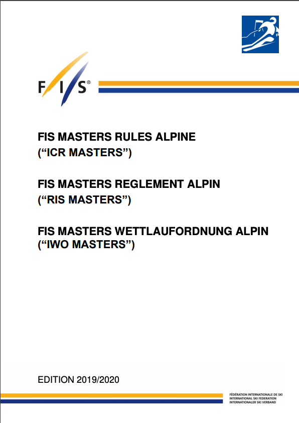 FIS Masters ICR Cover