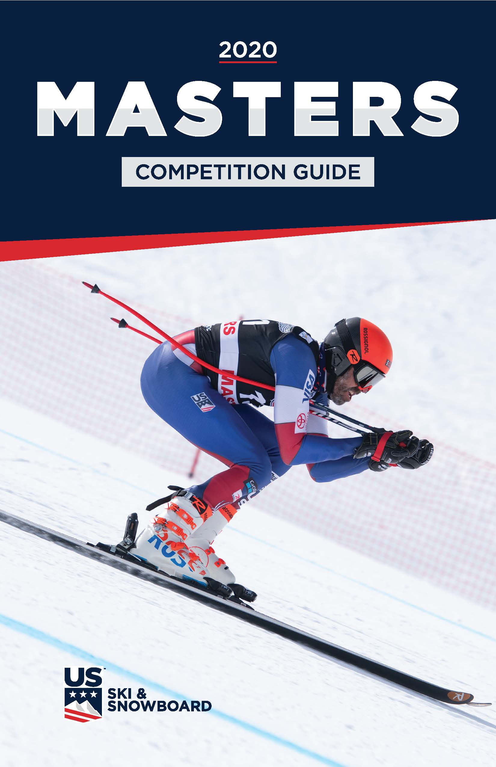 2020 Masters Alpine Competition Guide Cover