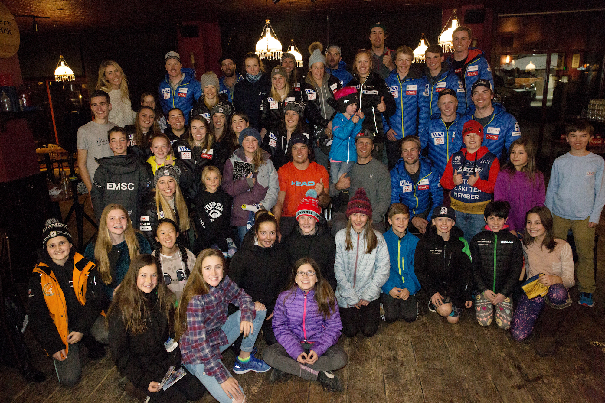 U.S. Ski Team at Copper Mountain