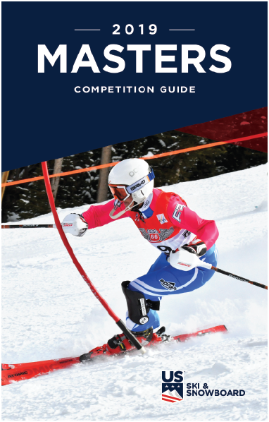 2019 Masters Alpine Competition Guide Cover