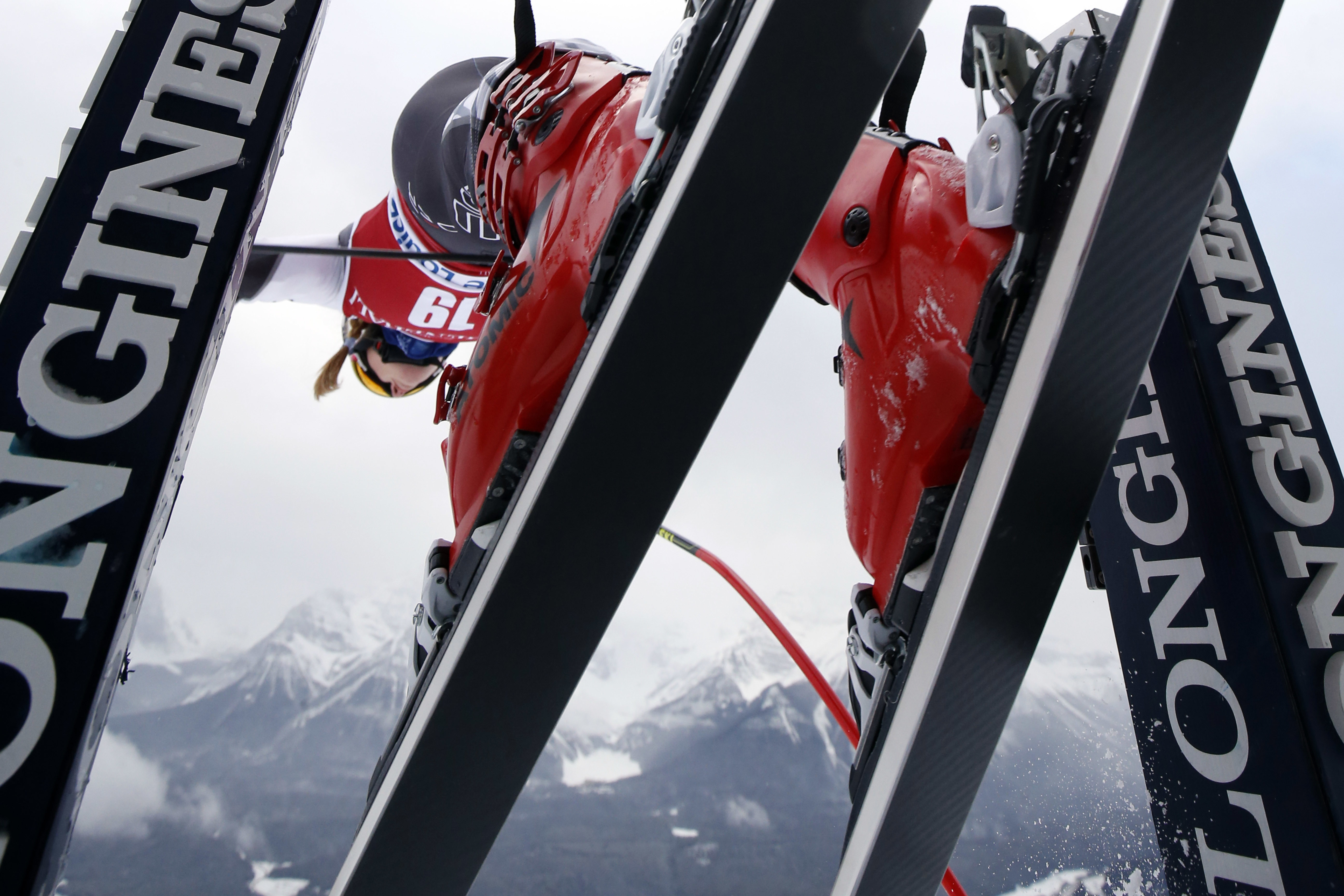 Shiffrin Fourth in Lake Louise Downhill