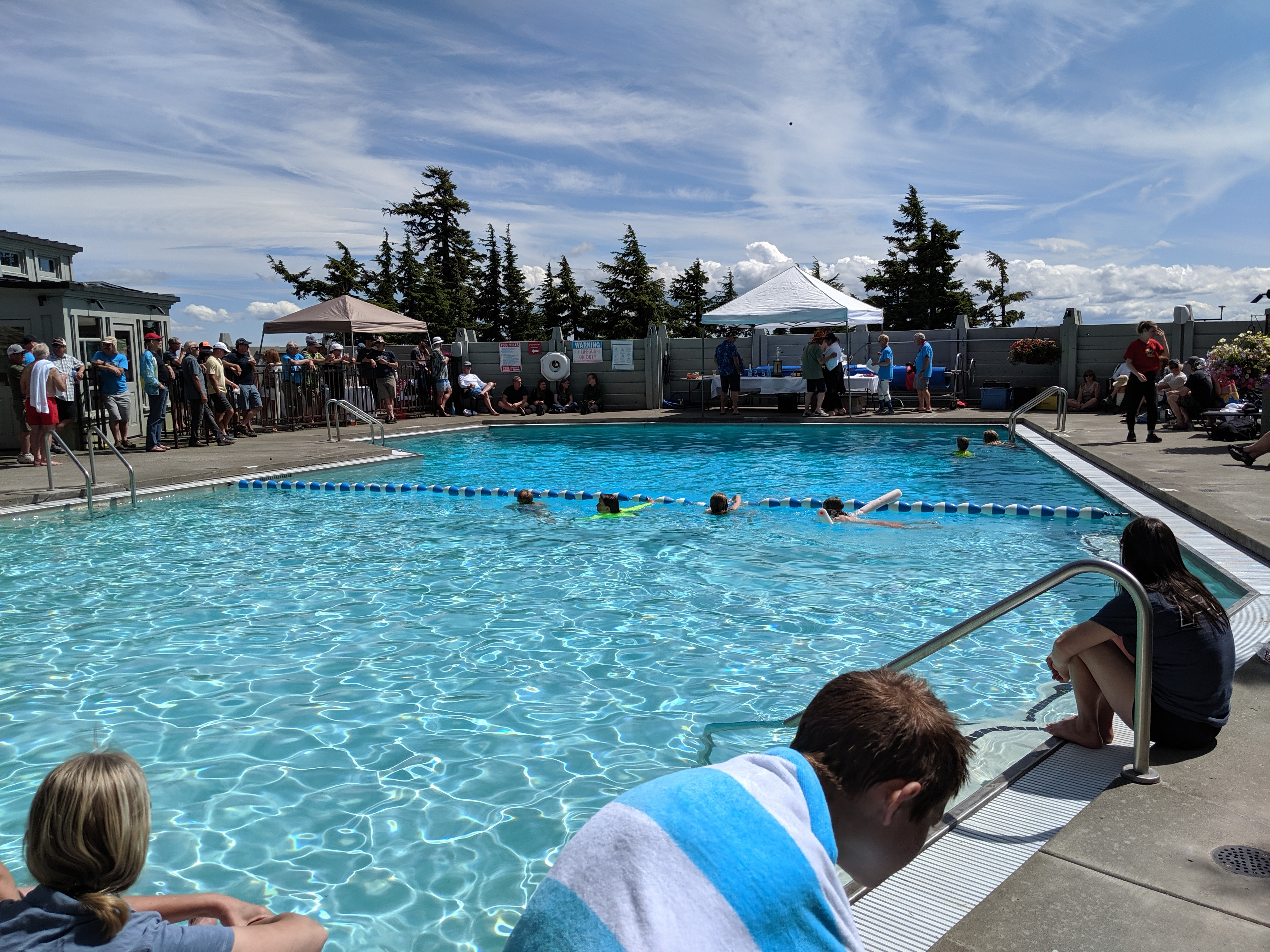 Timberline Lodge Pool Party