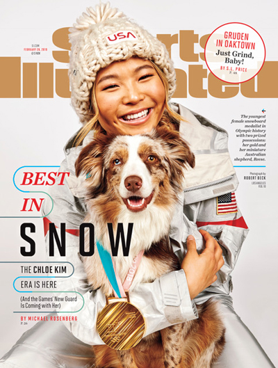 Sport Illustrated Cover Feb. 20, 2018