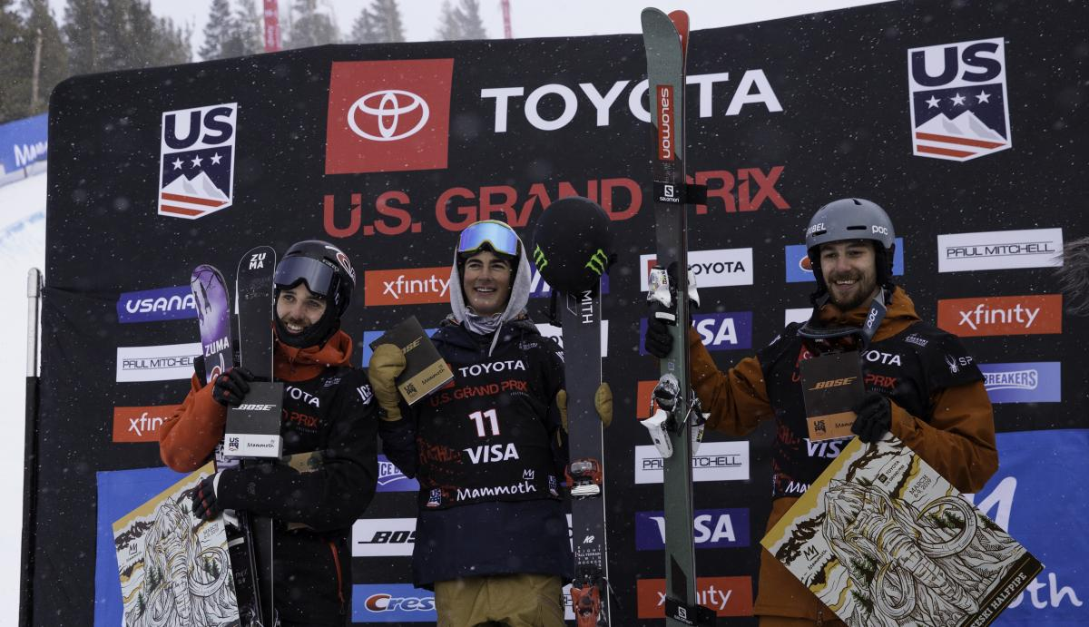 Irving Earns First World Cup Victory at Mammoth Grand Prix