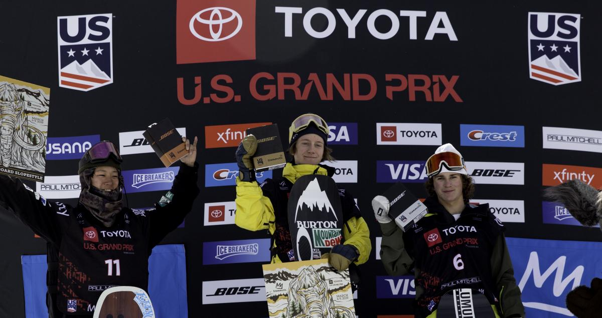 Gerard First, Henkes Second at Mammoth Mountain Grand Prix
