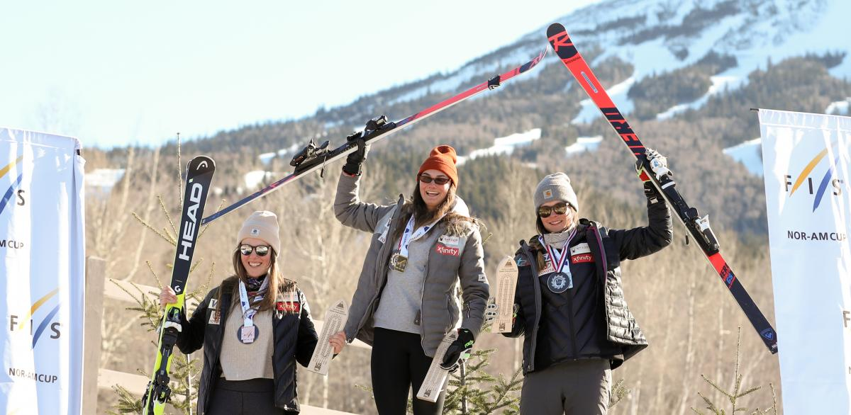Merryweather, Cochran-Siegle Win U.S. Downhill Titles