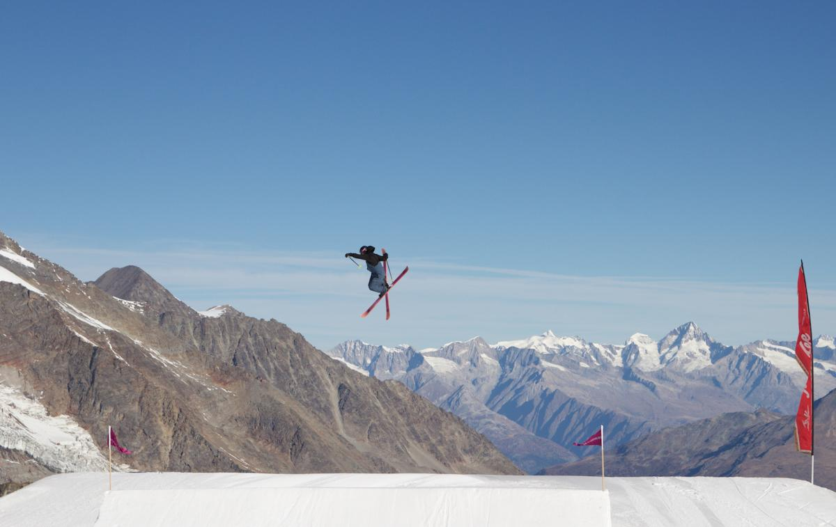 Beyond The Snow at Saas-Fee Training Camp