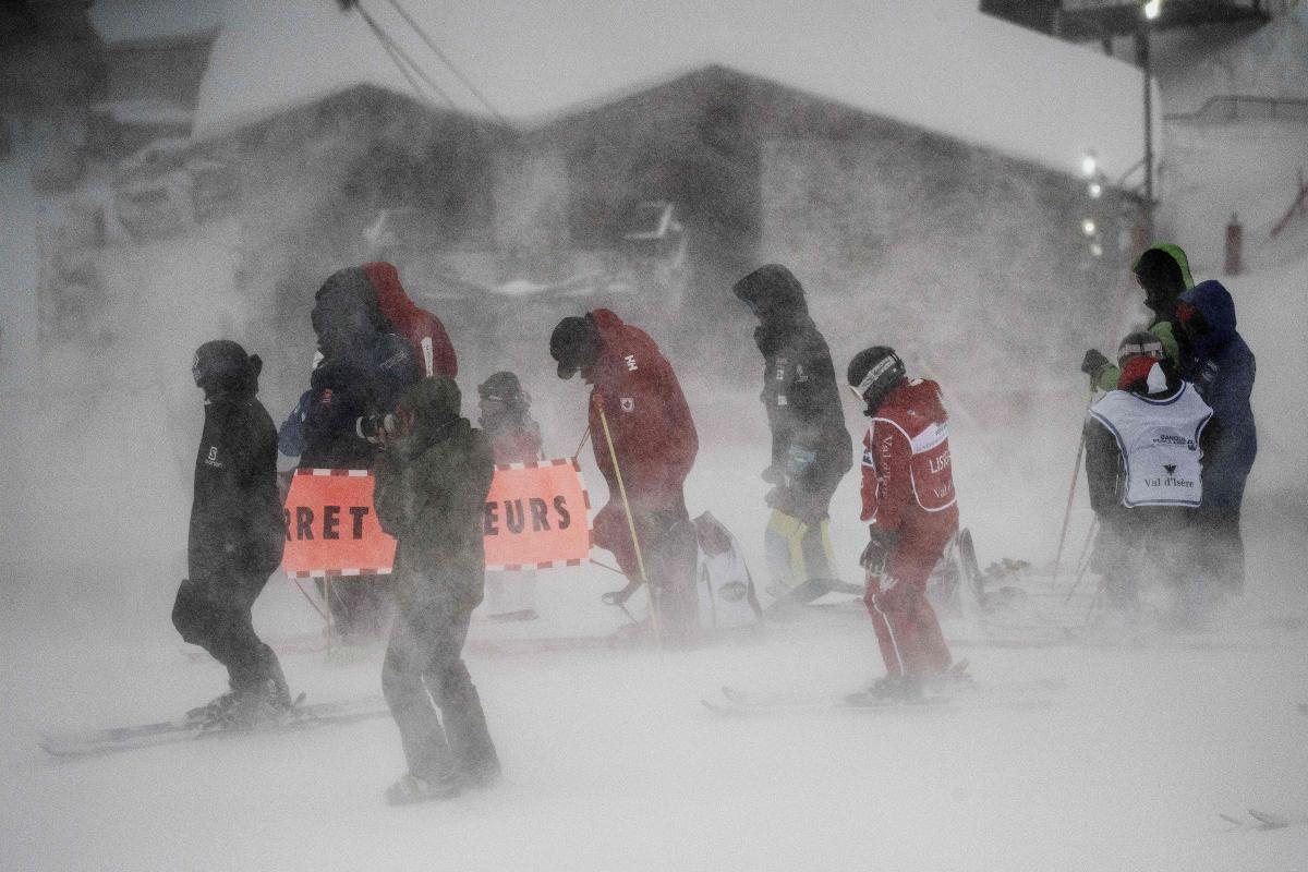 Val d'Isere Cancelled Due to Weather; Slalom Pushed to Sunday