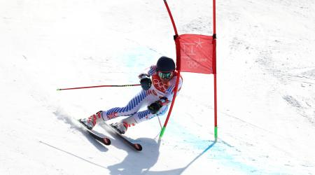 Ryan Cochran-Siegle finished 11th to lead Team USA in giant slalom Sunday at Yongpyong Alpine Centre. (Getty Images - Al Bello)