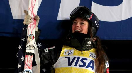 Current World Cup mogul leader Jaelin Kauf competes in Japan this weekend in moguls and dual moguls events in her quest to win the World Cup title. (Getty Images - Tom Pennington)