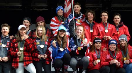 U16 Team USA Athletes at Whistler Cup