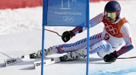 Ted Ligety competes at the Olympics in PyeongChang