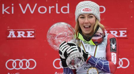 Mikaela Shiffrin Featured in Blick