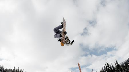 Chloe Kim at Copper Mountain Halfpipe.