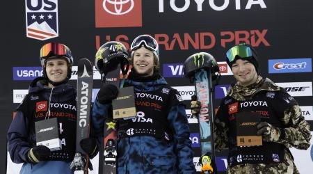 Mens Podium at U.S Grand Prix