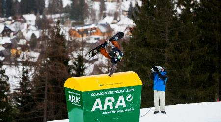 Ryan Stassel in Austria.