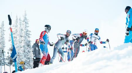 Men's Speed Team Trains in at our U.S. Ski Team Speed Center at Copper Mountain