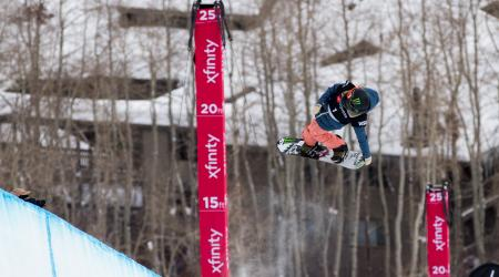 Chloe Kim at World Champs