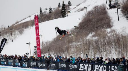 Aaron Blunck in Park City