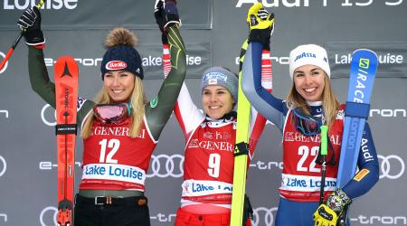 Shiffrin second in Lake Louise